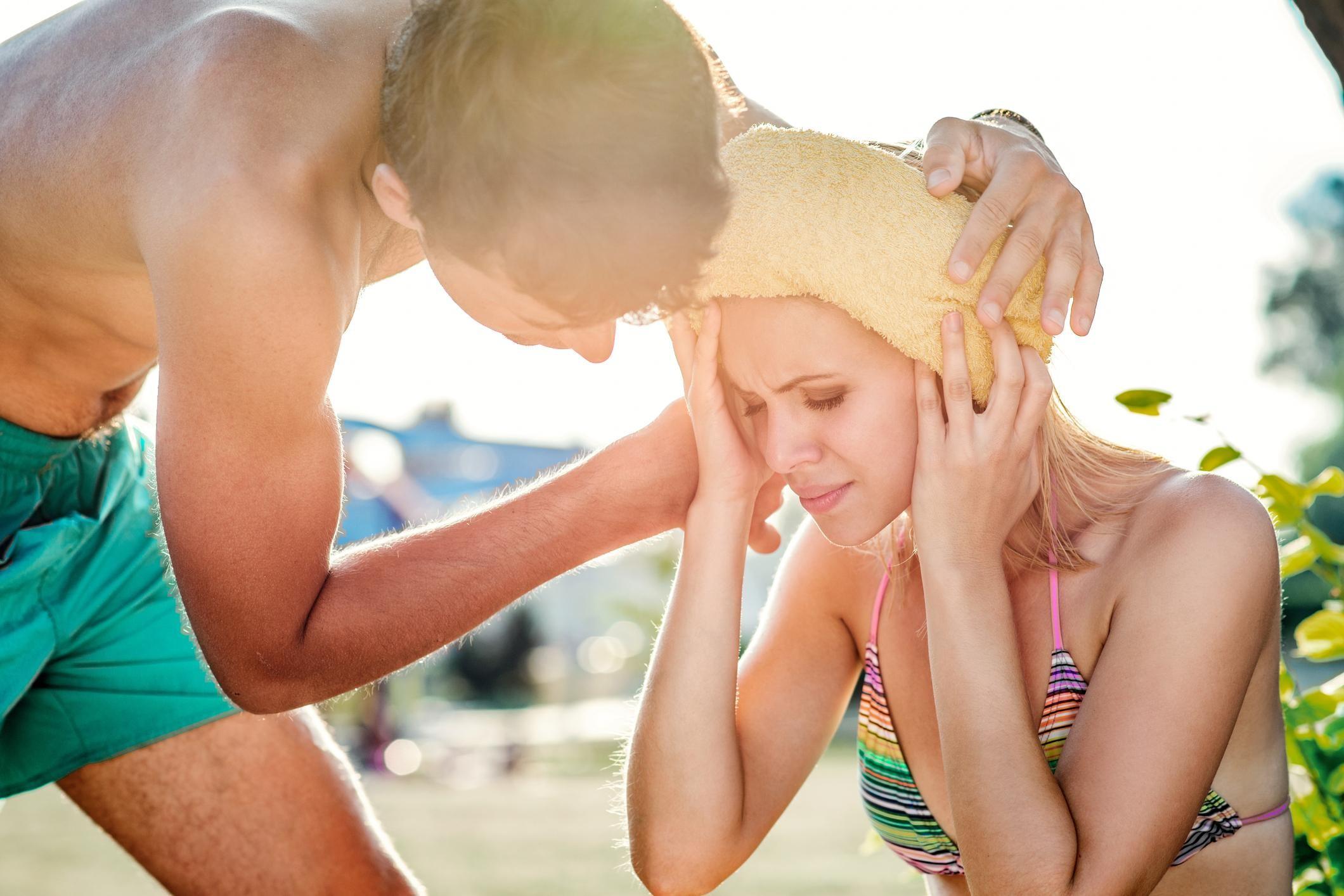 Как оградить младенца от летней жары. как помочь грудничку пережить жару