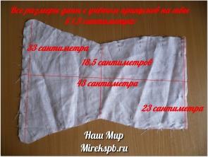 Мастер-класс: как сшить подгузники для новорожденных из ткани своими руками