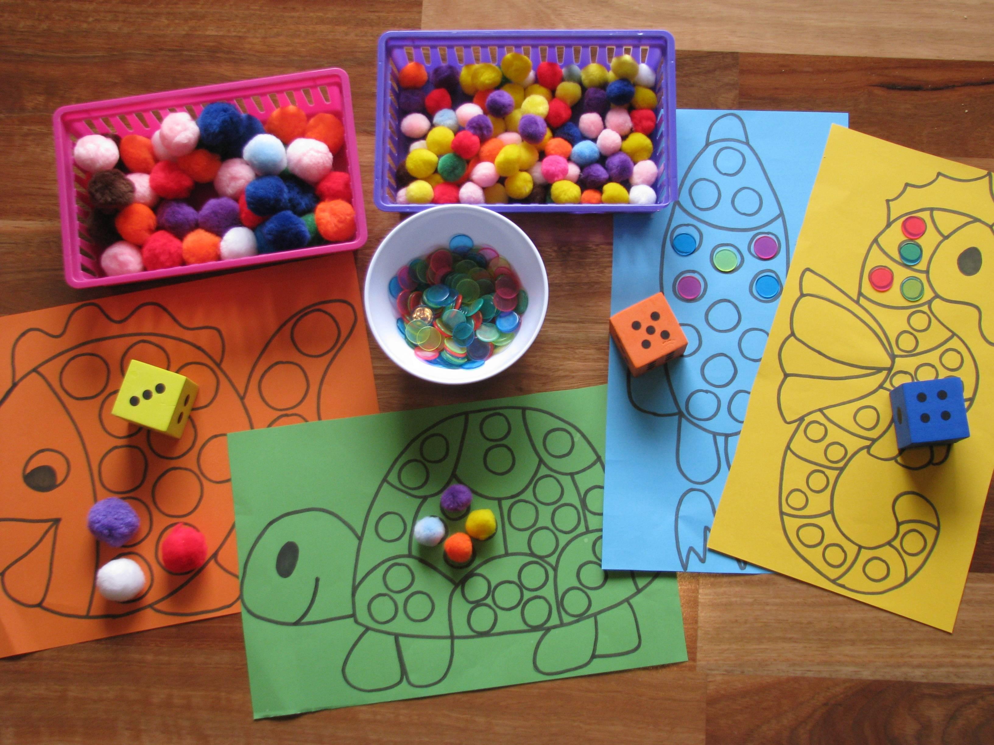 Развивающие и другие игры для мальчиков и девочек 2-3 лет, изготовление поделок детьми своими руками