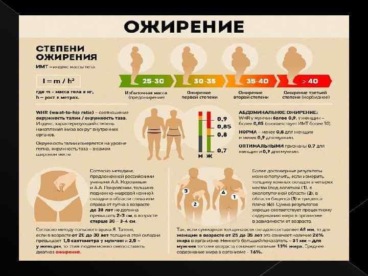 Ожирение у детей: причины, степени, лечение, профилактика