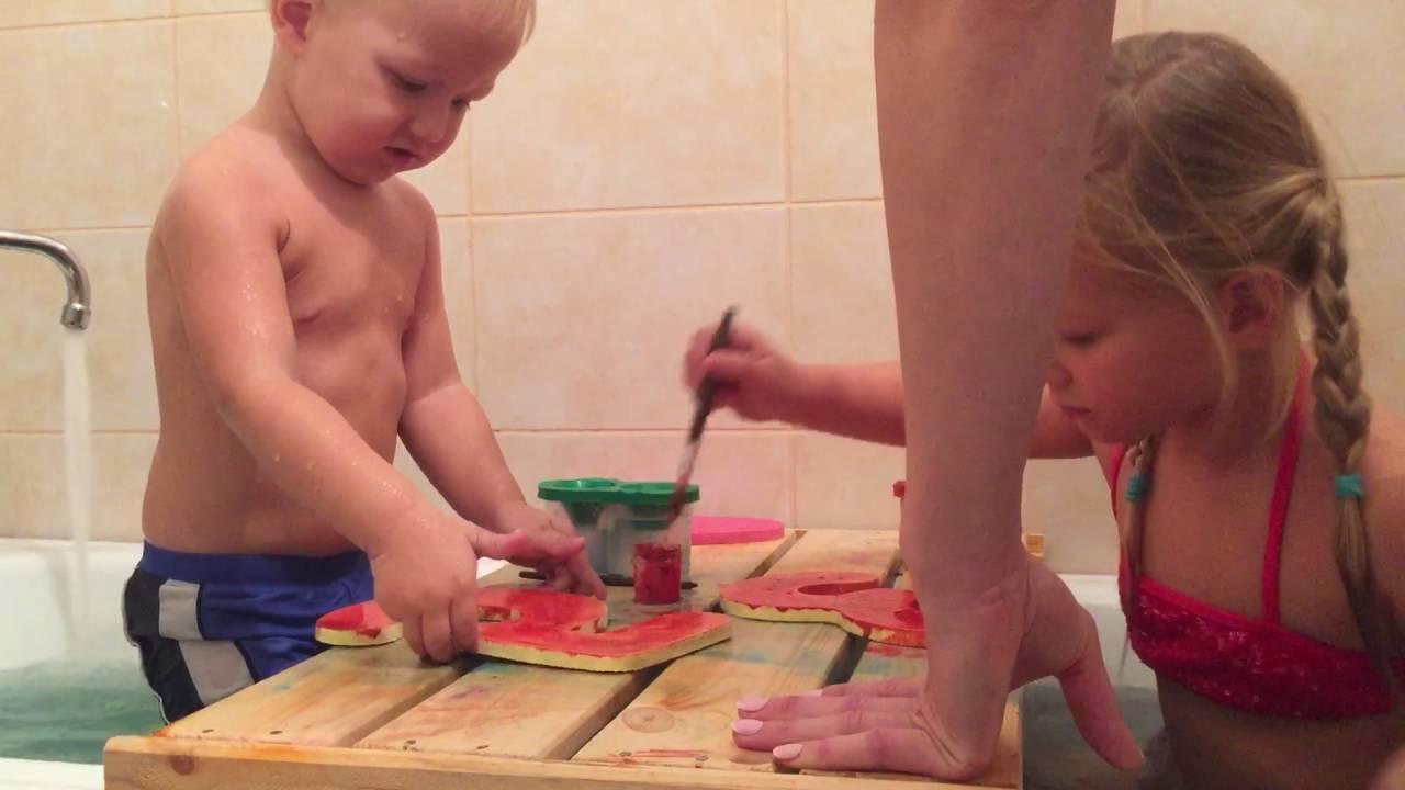 Игрушки для ванны детям до года