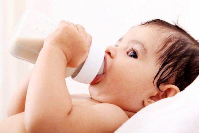 Аллергия у грудничка на коровий белок и молочные продукты