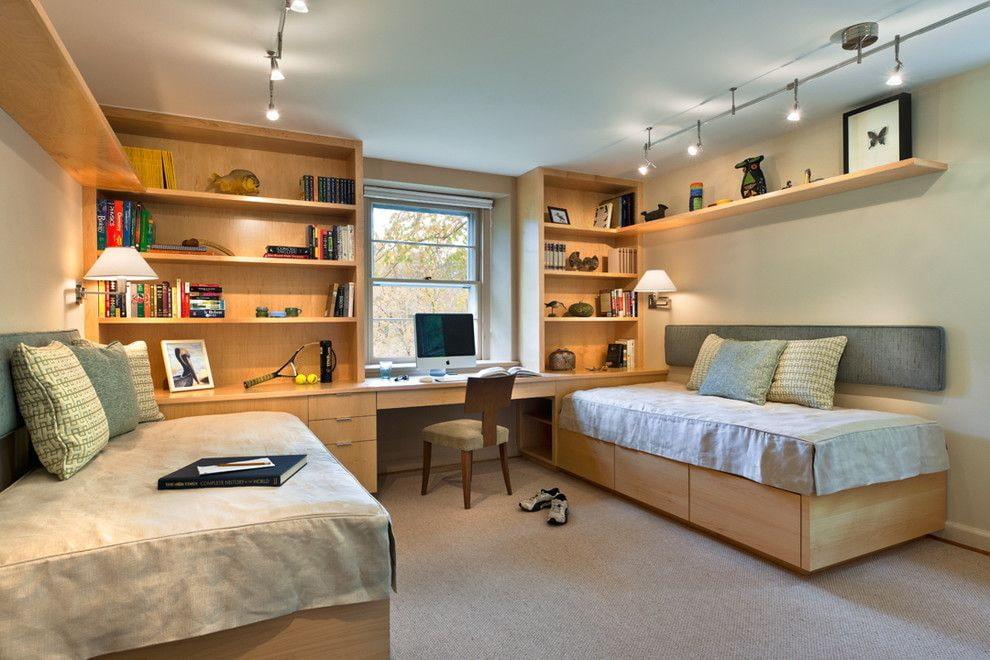 Детская комната для двоих детей (68 фото): дизайн-проекты, идеи обустройства | «покажу»
