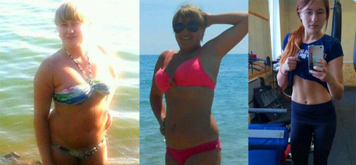 Истории похудения на гв