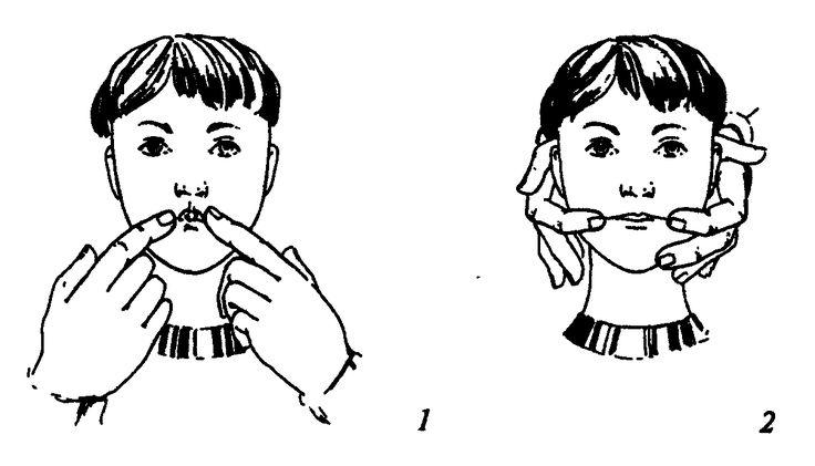 Логопедический массаж языка, лица и кистей рук для детей в домашних условиях: упражнения на развитие речи