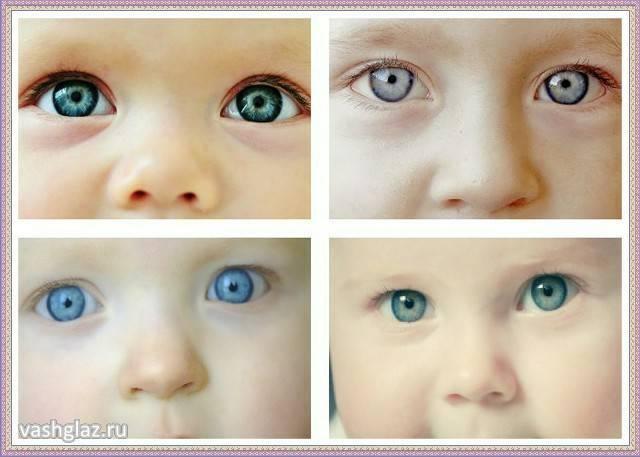 Когда у новорожденных меняется цвет глаз: с каким цветом глаз рождаются дети и во сколько он формируется / mama66.ru