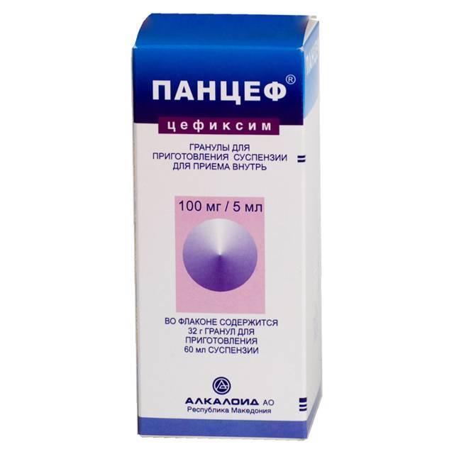 Суспензия 100 мг и таблетки 400 мг панцеф: инструкция по применению