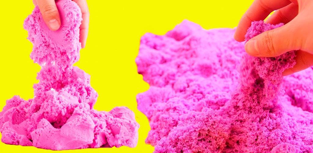 Как сделать кинетический песок своими руками: состав и технология