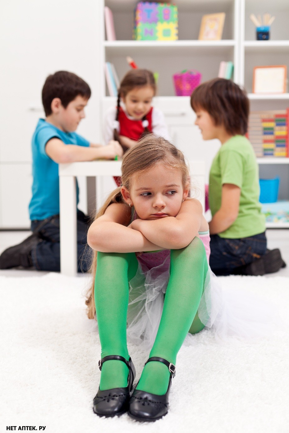 Ребенок ни с кем не общается в школе. проблема зачастую начинается с родителей