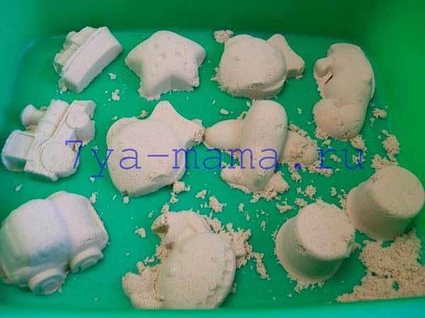 Мастер-класс для педагогов «игры с кинетическим песком»