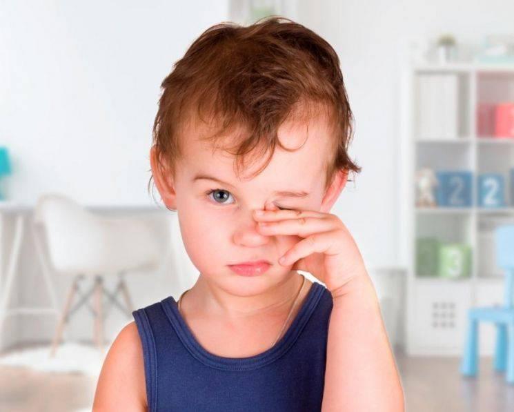 Конъюнктивит у детей: признаки, лечение, профилактика