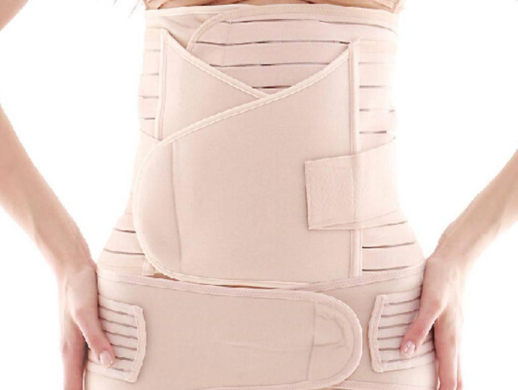 Бандаж после кесарева сечения: какой лучше, как правильно и сколько носить