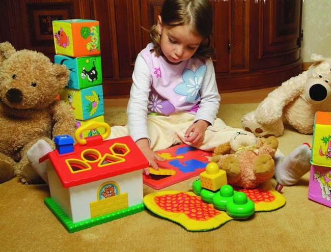 Развивающие игры для детей 1 года 3 месяцев и старше – жили-были