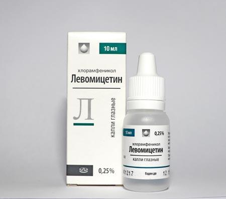 Левомицитиновые капли в нос: инструкция по применению для взрослых и детей