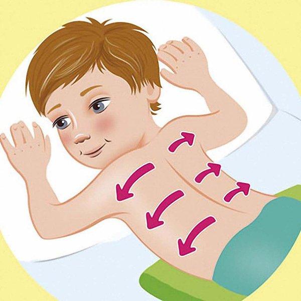 Как правильно растирать грудничка при кашле