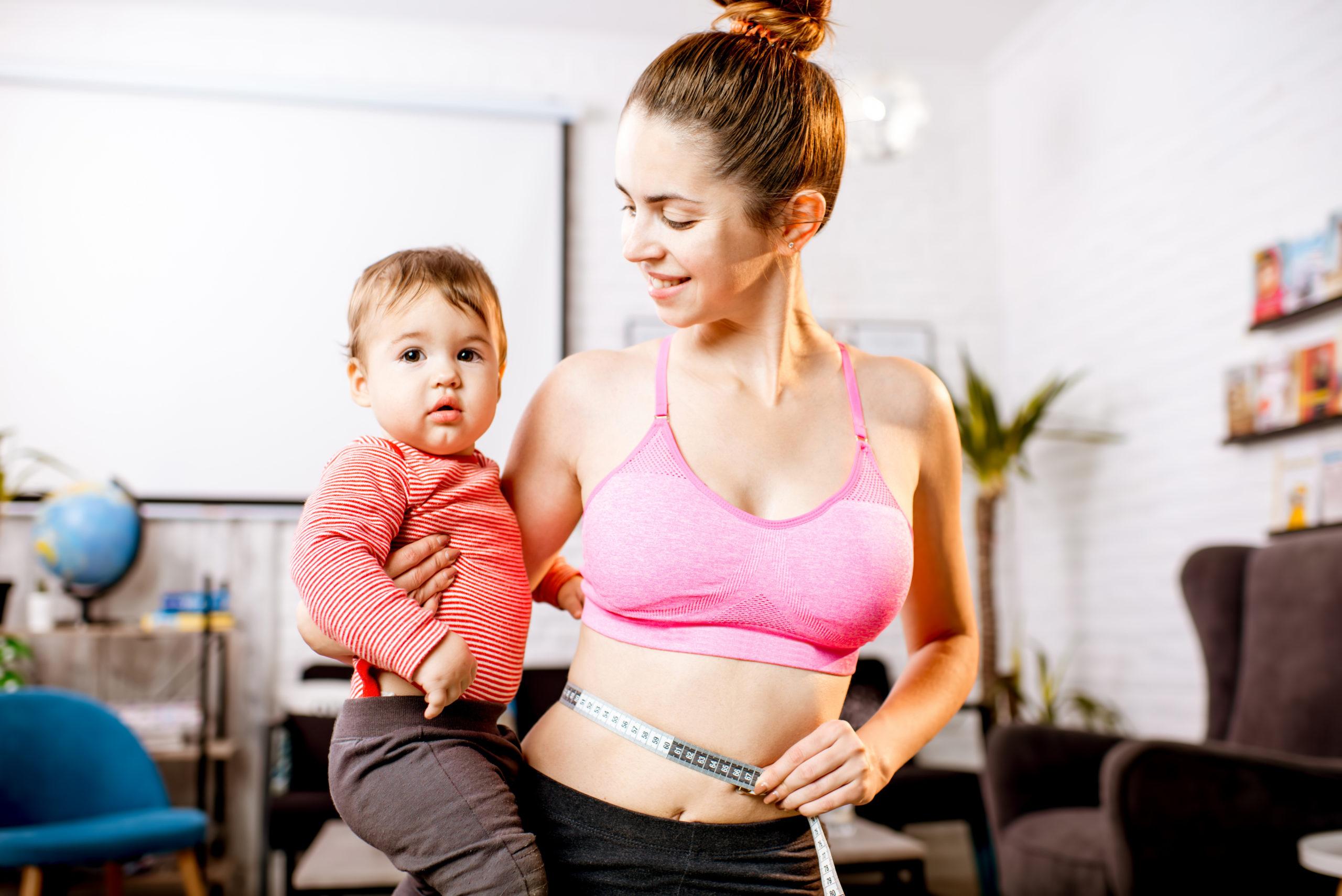 Как похудеть после родов | уроки для мам