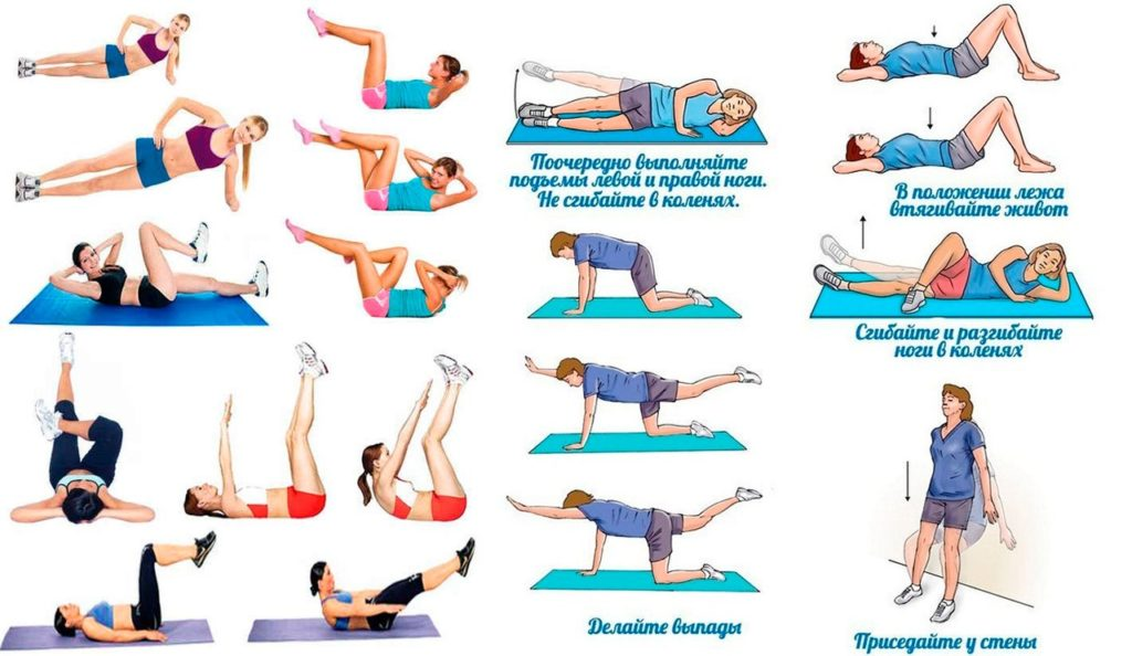 Восстановительная гимнастика после родов: 14 простых упражнений