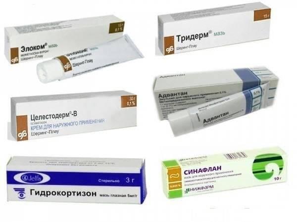 Негормональные мази от дерматита: список, рекомендации по применению
