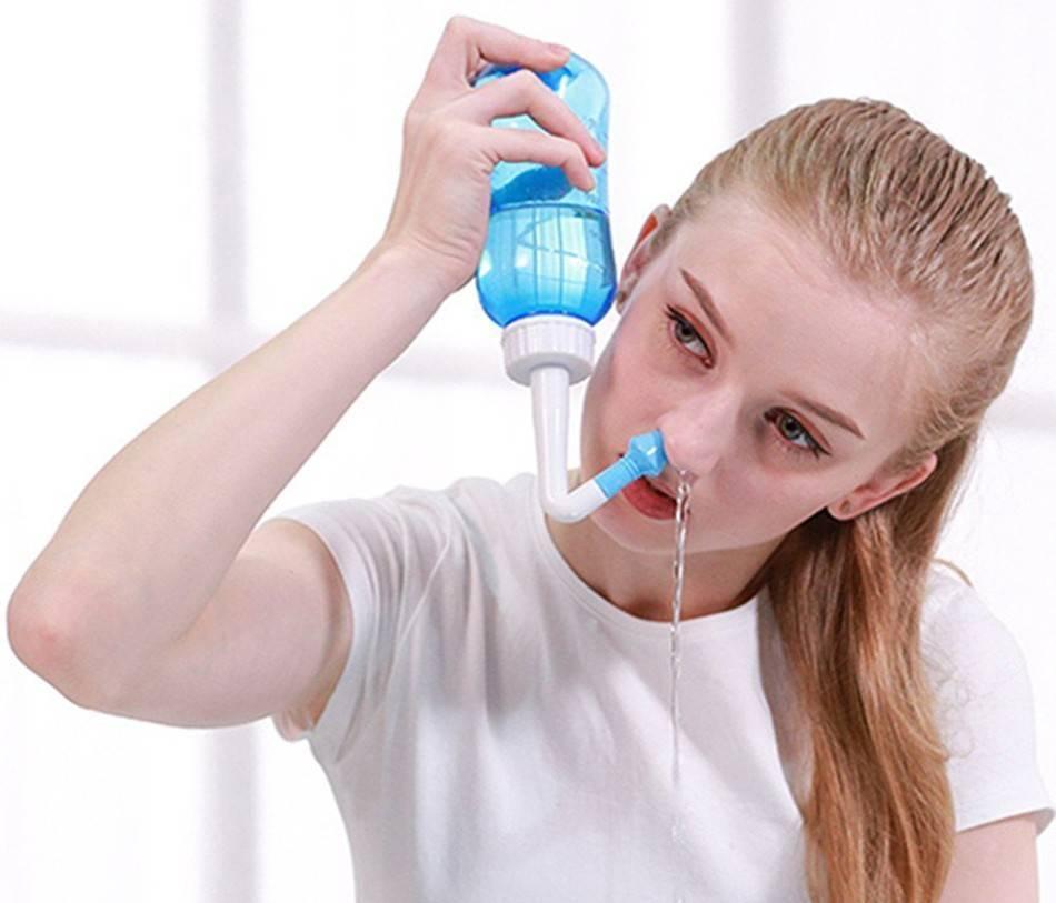 Чем пробить нос при сильном насморке в домашних условиях