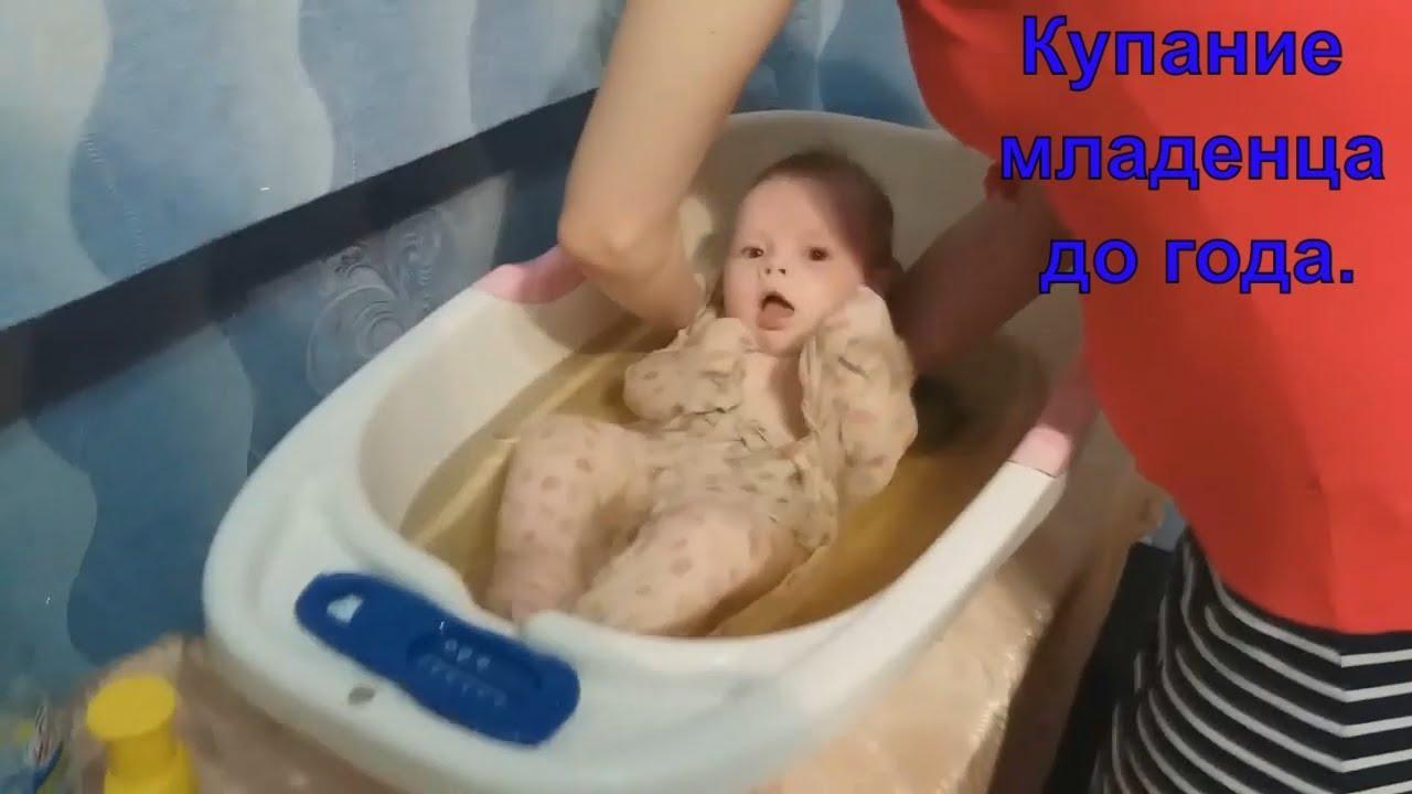 Первое купание новорожденного дома - правила для родителей