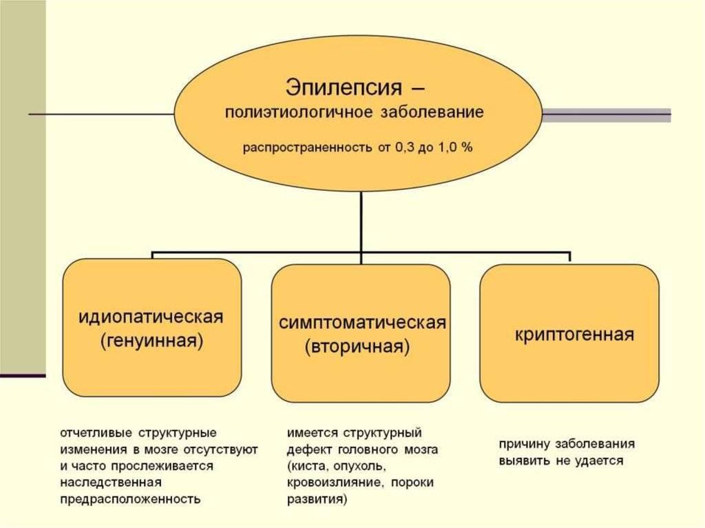 Особенности развития фокальной эпилепсии