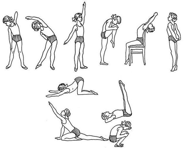 Лфк при сколиозе у детей: комплекс упражнений в домашних условиях, цель лечебной гимнастики