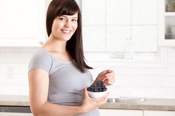 О полезных (и не очень) свойствах чернослива во время беременности