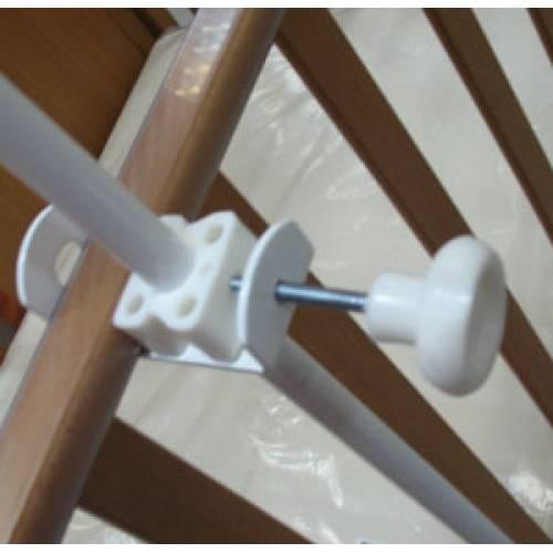 Инструкция, как правильно повесить на детскую кроватку балдахин