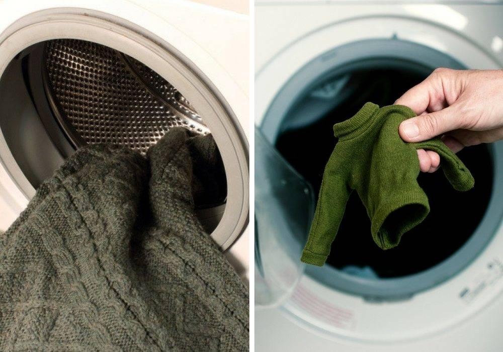 Как стирать трикотаж в стиральной машине
