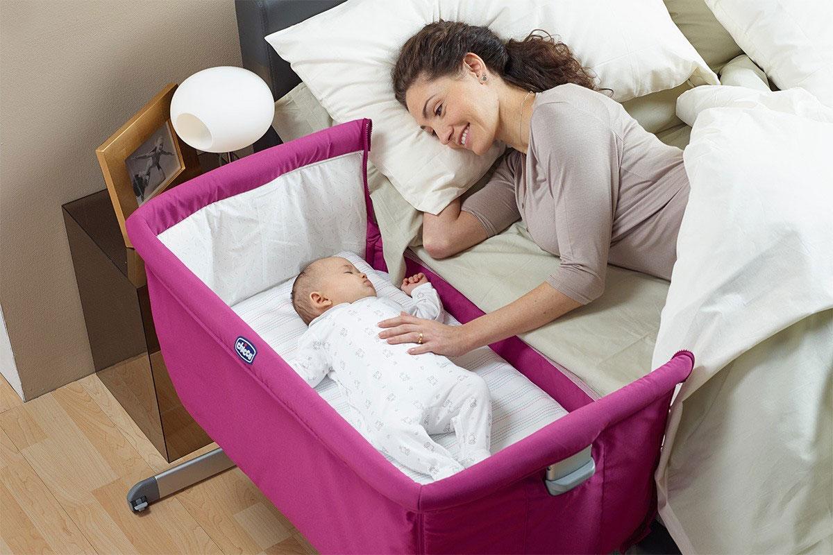 Приставная кроватка для новорожденных