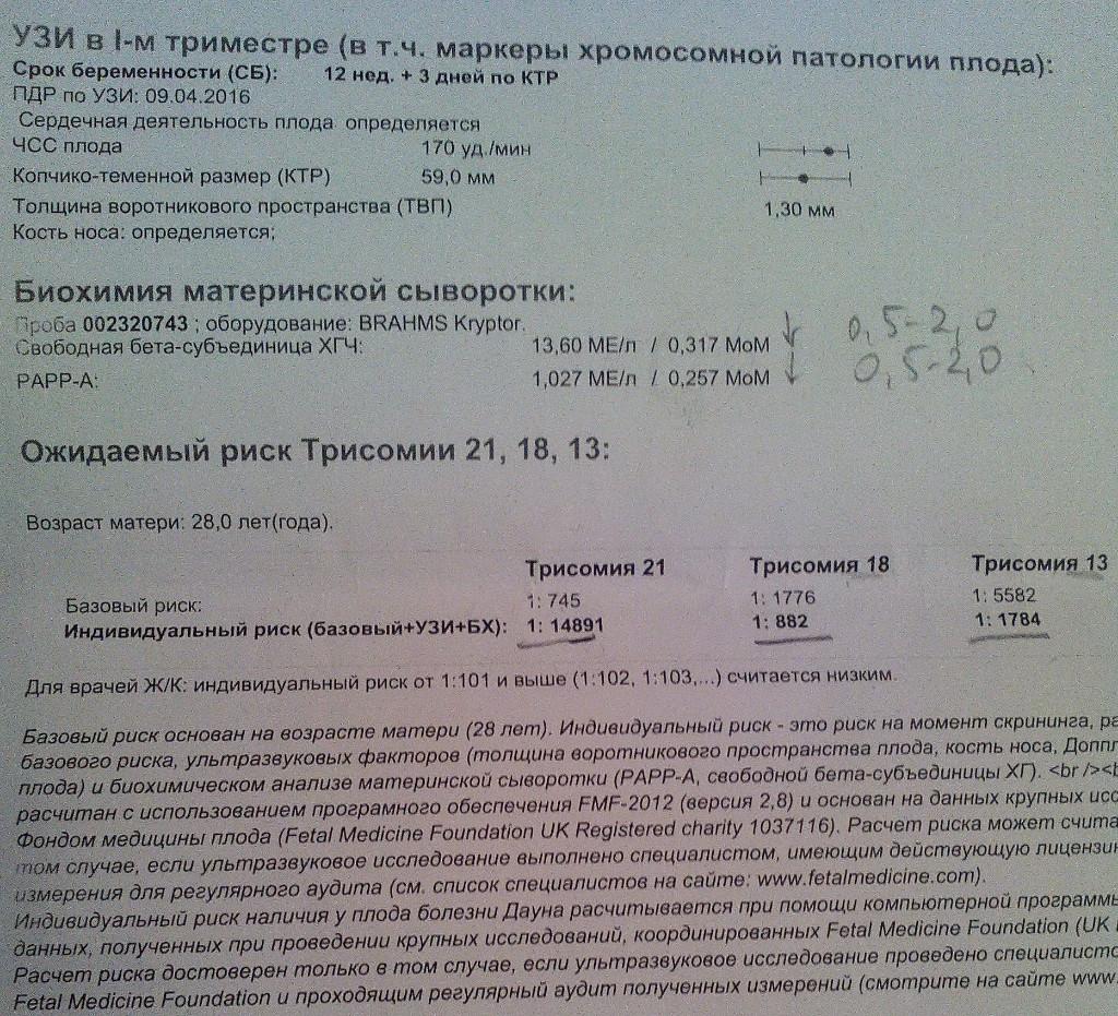 Анализ крови на хромосомы при беременности | медик03