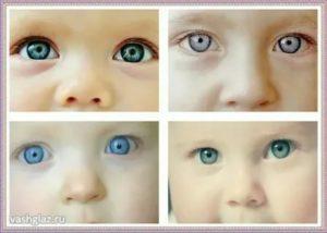 Цвет глаз у новорожденных – когда меняется?