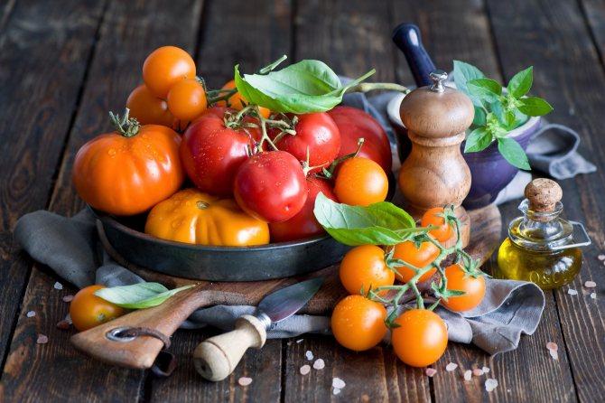 Как правильно употреблять помидоры при грудном вскармливании?