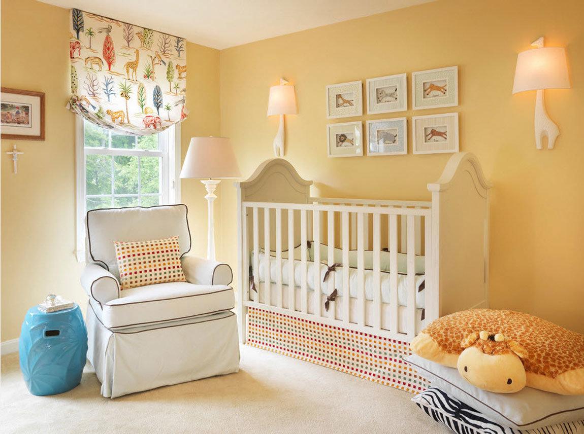 Детская комната новорожденного - 35 фото, 5 шагов дизайна и обустройства