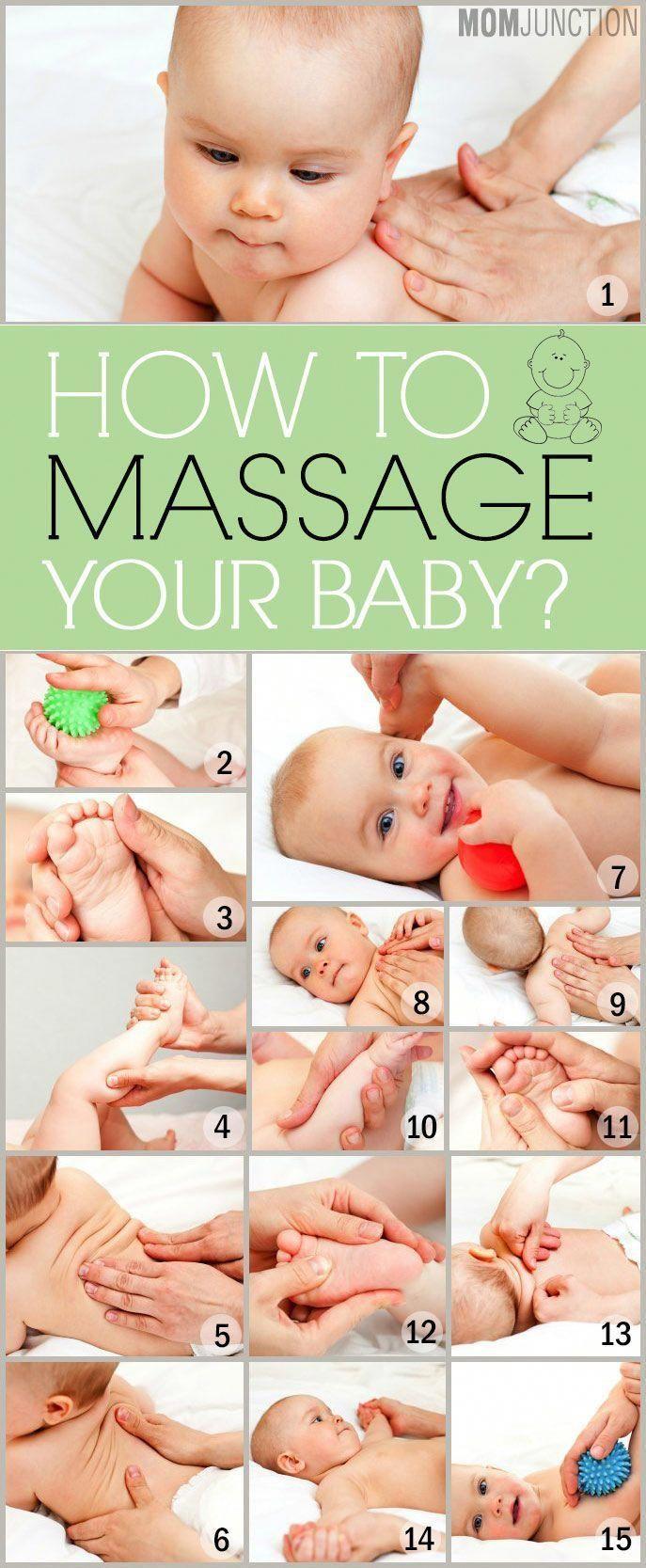 Детский массаж: польза, виды, приемы