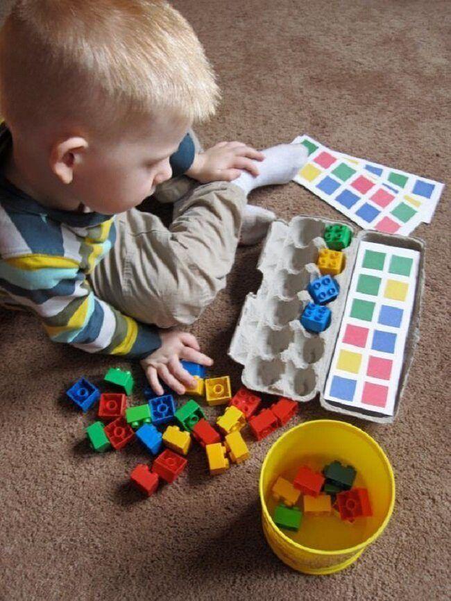 Рис, коробка и фантазия: 6 идей для развивающих игр. как сделать сенсорную коробку для ребенка