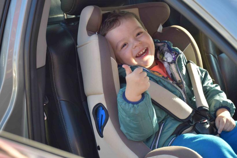 5 удивительных фактов о безопасности детей в автомобилях