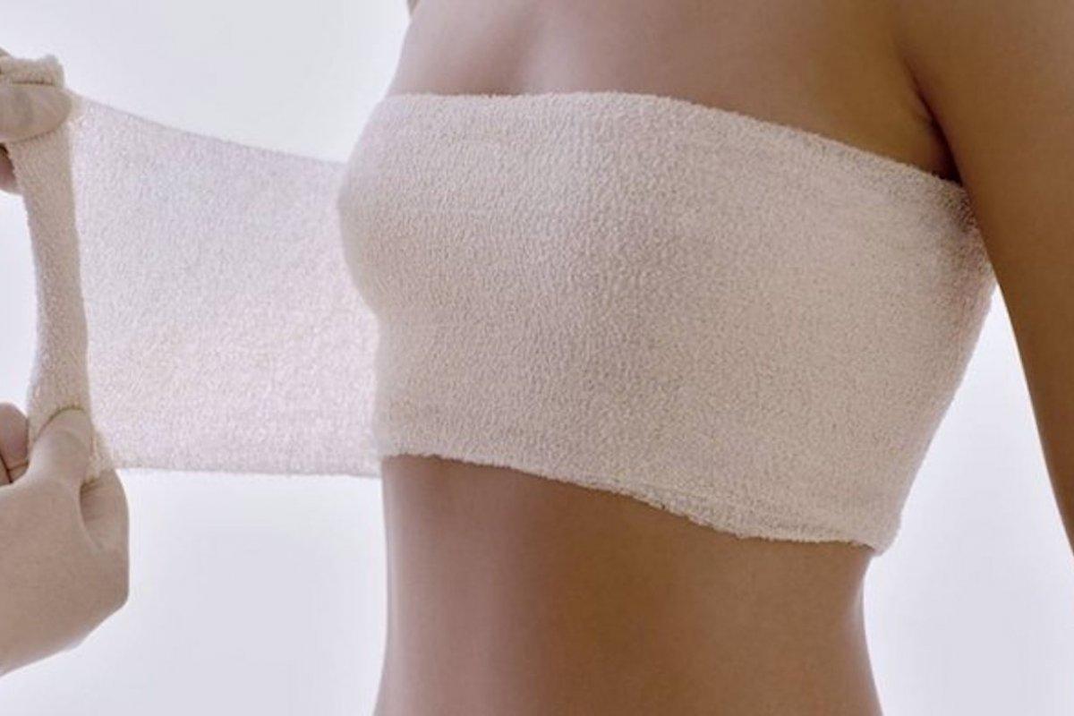 Всё о перетягивании груди для прекращения лактации