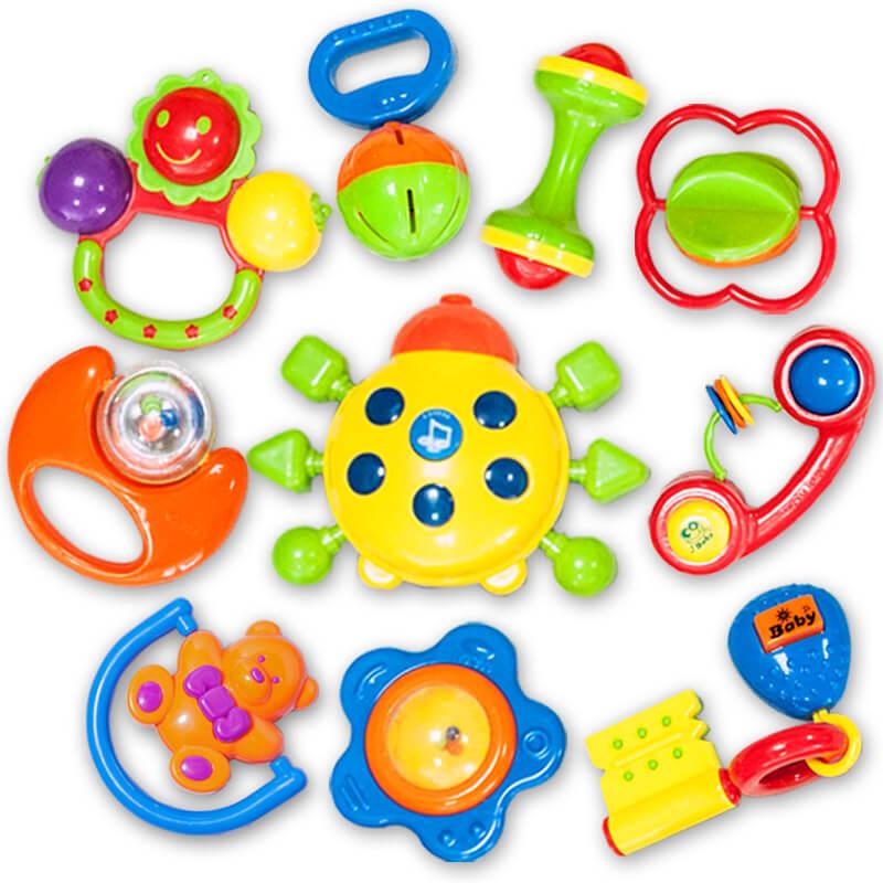Погремушки – первые и самые главные игрушки для новорождённых