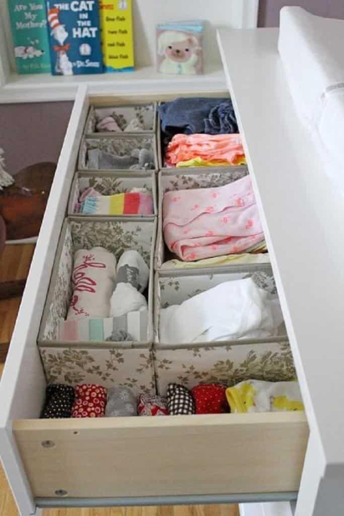 Система порядка в детском гардеробе