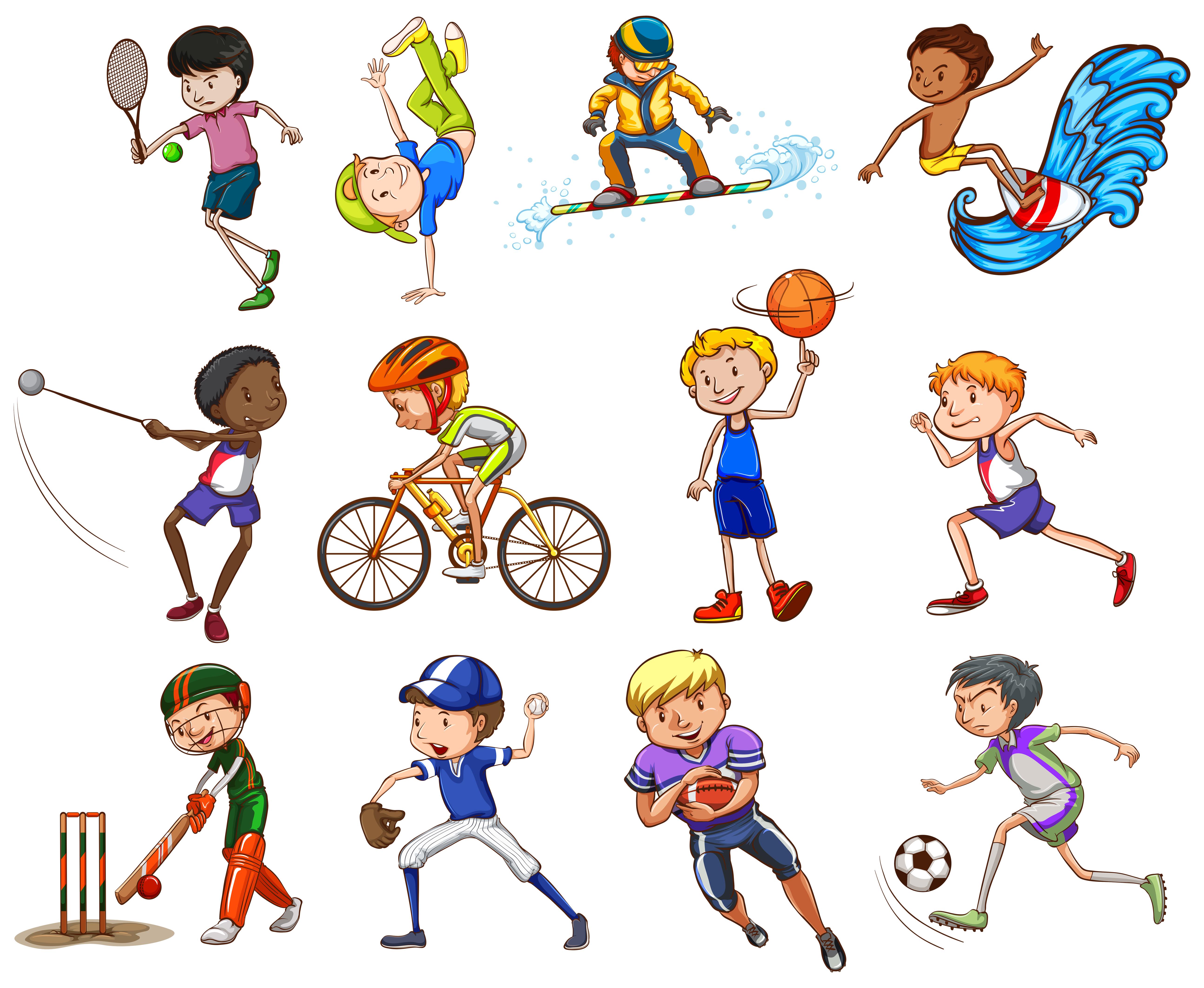 Топ-10 видов спорта и спортивных развлечений для детей от 0 до 5 лет