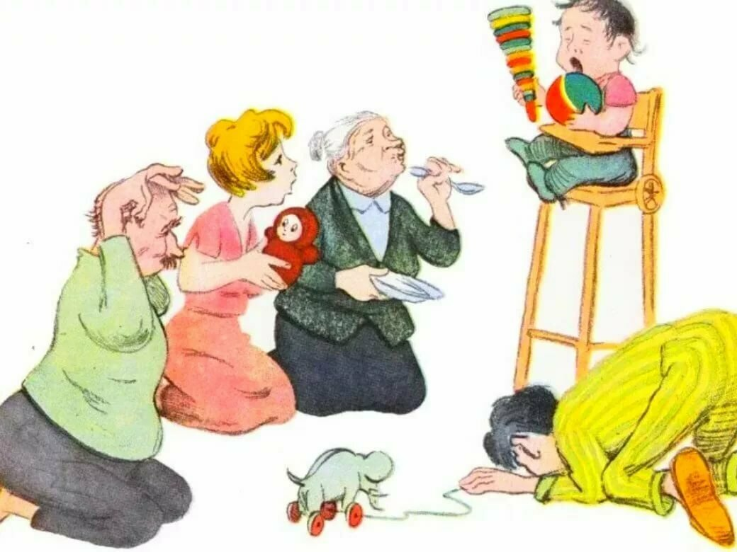 Бабушка балует внука, что делать? - советы и рекомендации от mamsy