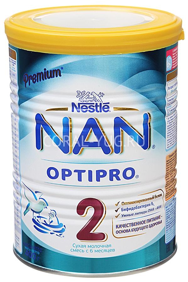 Чем отличаются детские молочные смеси nan 1 и nan 2 | в чем разница