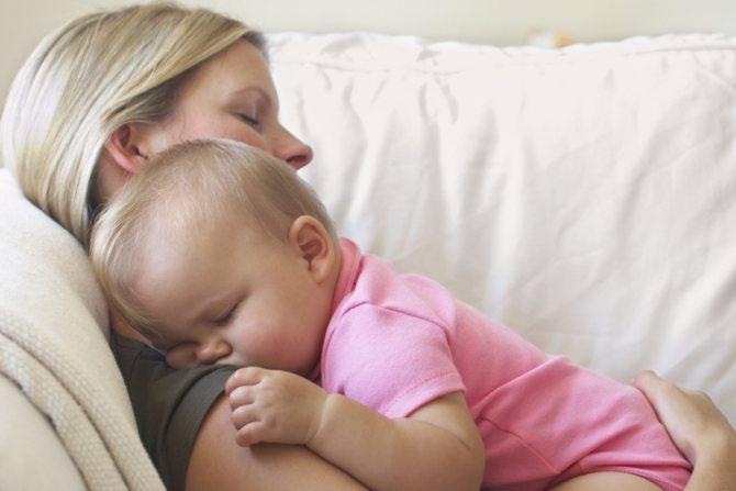 Грудничок плохо спит днем | уроки для мам