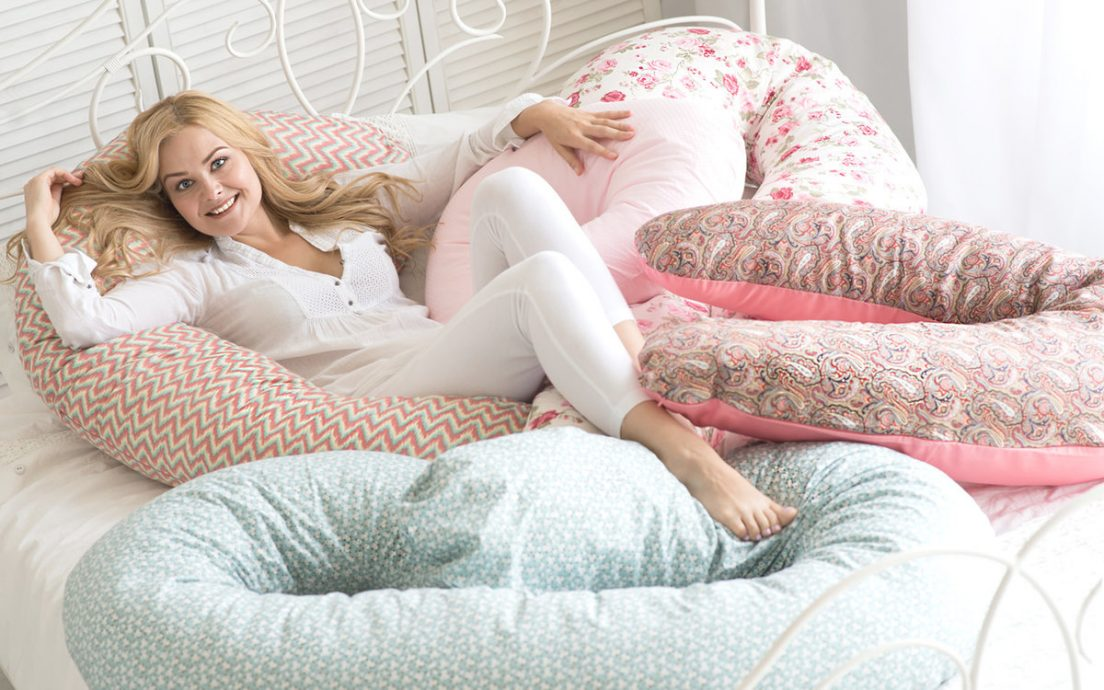 Выбираем подушку для беременных