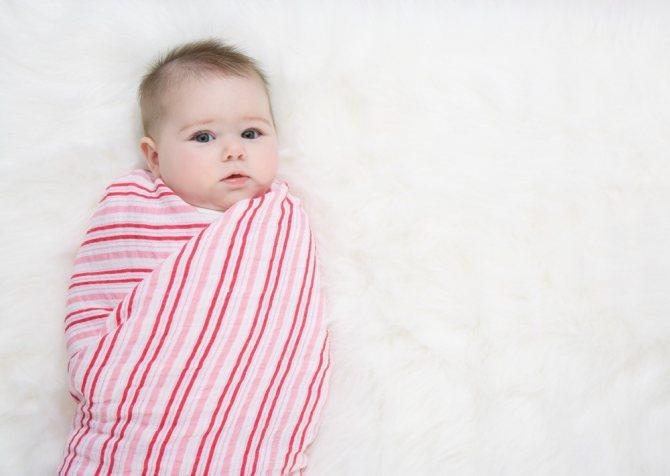Как отучить ребенка от пеленания без стресса