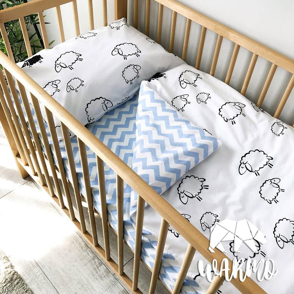 Шьем постельное бельё в детскую кроватку своими руками