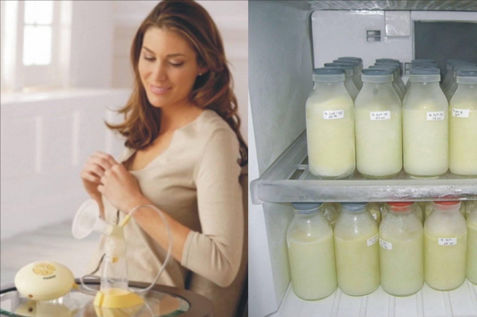 Как заморозить и разморозить грудное молоко