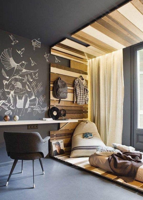 Интерьер комнаты подростка: 75 идей стиля, дизайна и оформления