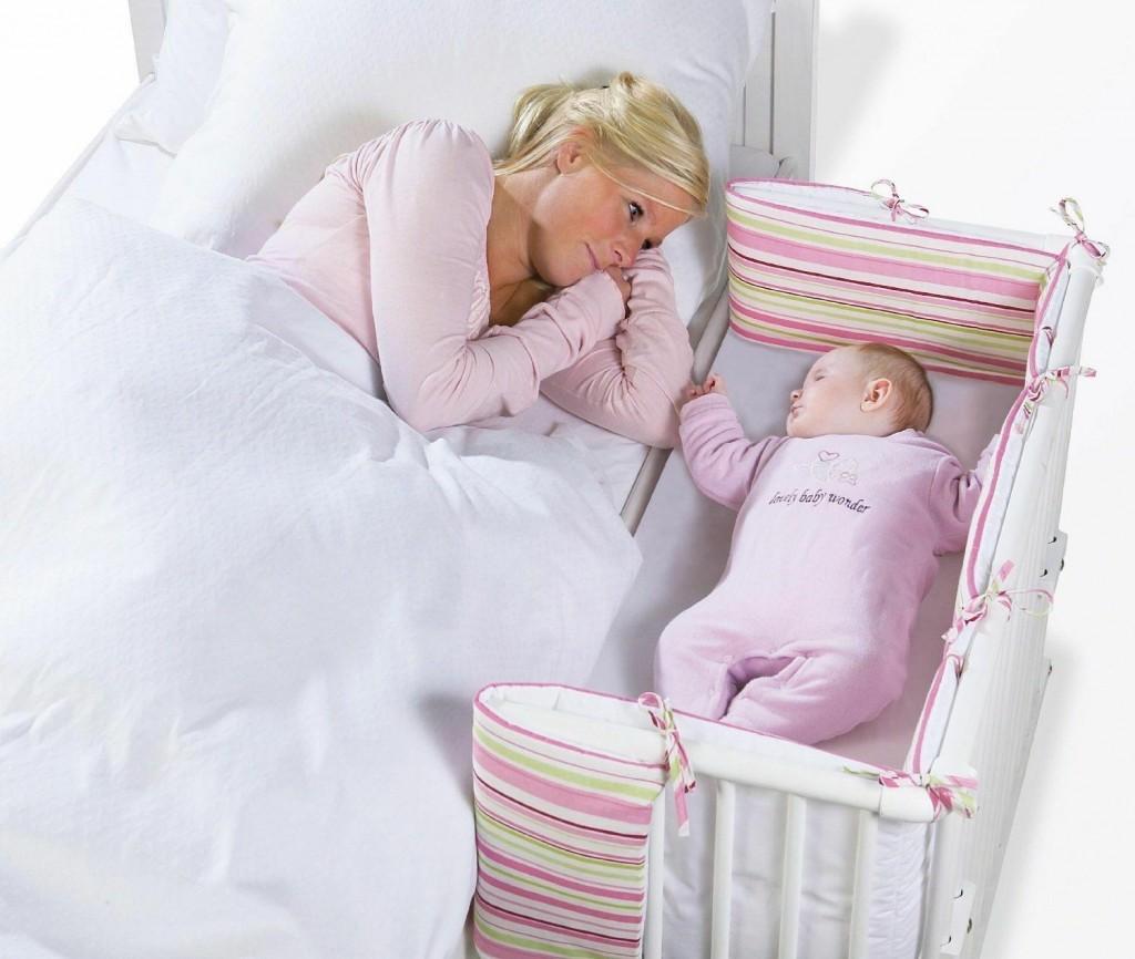 Как оформить стену над кроваткой малыша? | домфронт